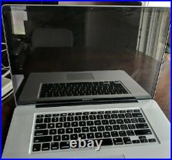 MacBook Pro 17-inch, Mid 2010,2.66 GHz Core i7, 8 GB, SanDisk Ultra II 960GB SSD