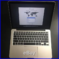 MacBook Pro Mid 2014 256 GB SSD 13 Retina Display Core i5 2.6 GHz