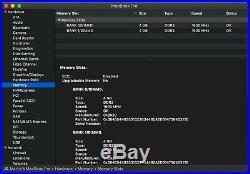 MacBook Pro (Retina, 13-inch, Mid 2014), i5, 8GB, 512GB, like new, some warranty