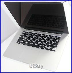 MacBook Pro Retina 15 Mid-2015 2.8GHz 512GB 16GB MJLQ2LL/A A1398 BTO Upgraded