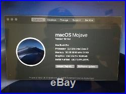 MacBook Pro (Retina, 15-inch, Mid 2015) 2.8GHz i7/16GB RAM/250GB SSD/macOS Mojav