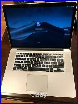 MacBook Pro Retina 15inch Mid 2015 2.8GHz Intel Core i7 16 GB 512GB SSD