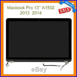 MacBook Pro Retina A1502 13'' Late 2013 Mid 2014 LCD LED Display Screen Assembly