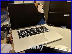 MacBook Pro (Retina) Mid 2015 15 2.8 GHz i7 1TB SSD 16GB RAM AppleCare
