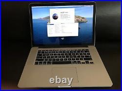 MacBookPro 15 Mid 2012, 2.6GHz Intel Core i7, 8GB, 960GB SSD