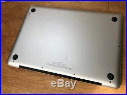 Macbook Pro 13-Inch Mid 2012 2.9 GHz INTEL CORE i7 8GB Ram 480GB SSD A1278