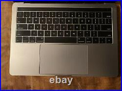 Macbook Pro 13-inch, Mid-2017, 8 GB RAM, 256 GB Storage (Broken Touch Bar)