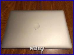 Macbook Pro 15 Inch Mid 2015 2.2 GHz i7 16GB Apple MacBook Pro 256 Gb