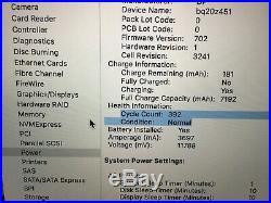 Macbook Pro 15 Mid 2015, i7 2.5 GHz, 16 GB Ram, 512 SSD, C Grade, A1398