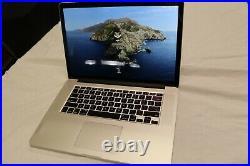 Macbook Pro Retina 15 Mid-2015 2.5 GHz quad-core i7 16GB 512GB Dual Graphics