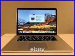 Macbook pro 15-inch Retina mid-2014 Intel i7 2.5GHZ 16GB Ram 256GB SSD