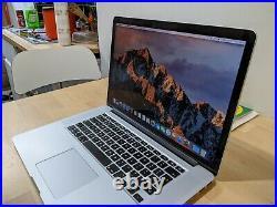 Macbook pro mid 2015 2.5GHz Intel Core i7 16GB RAM 512GB HD