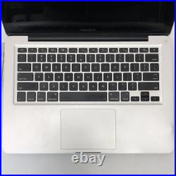 Mid-2012 Apple MacBook Pro 13 Silver 500GB HDD 4GB RAM Intel Core i5 2.5GHz A12