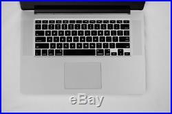 Mid 2014 15 Apple MacBook Pro Retina 2.2GHz i7/16GB/256GB/IG MGXA2LL/A