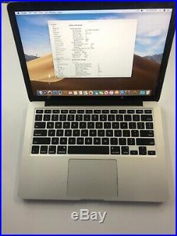Mid 2014 Apple 13 MacBook Pro Retina 2.8GHz i5/16GB/500GB Flash MGX92LL/A