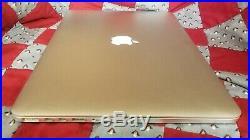 Mid 2015 15 Apple MacBook Pro Retina 2.2 GHz Core I7 16gb RAM FOR PARTS NO SSD