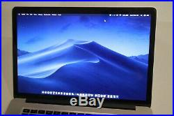 Mid 2015 15 Apple MacBook Pro Retina 2.2 GHz Core I7 256 GB 16gb ram