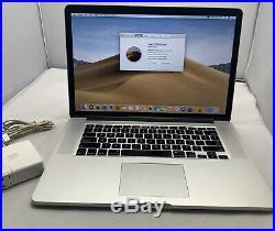 Mid 2015 15 Apple MacBook Pro Retina 2.5 Ghz Dual Graphics AMDR9 16GB 512GB SSD