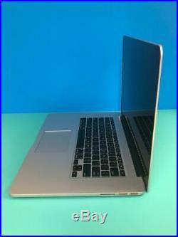 Mid 2015 Apple MacBook Pro Retina MJLU2LL/A 15.4 i7-4980HQ 512GB SSD 16GB RAM