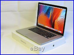 Mid 2015 Apple Macbook Pro 15 15.4 Retina i7 2.2GHZ 16GB Ram 2TB SSD MJLQ2LL/A