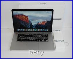 Mid 2015 Apple Macbook Pro 15 15.4 Retina i7 2.8GHZ / 16GB 1TB SSD AMD Radeon