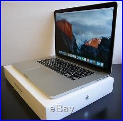 Mid 2015 Apple Macbook Pro 15 15.4 Retina i7 2.8GHZ / 16GB 2TB SSD AMD Radeon