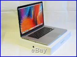 Mid 2015 Apple Macbook Pro 15 15.4 i7 2.8GHZ / 16GB / 1TB SSD / New Battery