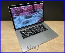 Mid-2015 MacBook Pro Retina 15 A1398BTO i7 2.5GHz 16GB 512GB