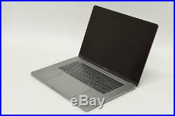 Mid 2017 15 MacBook Pro Touch Bar 3.1GHz i7/16GB/1TB Flash/Space Gray