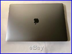 Mid 2018 Apple MacBook Pro 15 Touch Bar 2.2Ghz i7 16GB RAM 512GB MR932LL/A