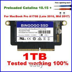 NEW 1TB SSD For Macbook Pro Retina 13.3 A1708 non-touchbar Late 2016 Mid 2017