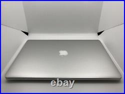READ Apple MacBook Pro 15 Mid 2015 2.5Ghz i7 16GB RAM 500GB SSD DUAL GFX