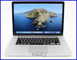 STRONG 15 Mid 2015 Apple MacBook Pro 2.5GHz i7 16GB RAM 512GB SSD + WARRANTY